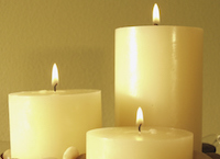 funeral home staff funeral directors candles